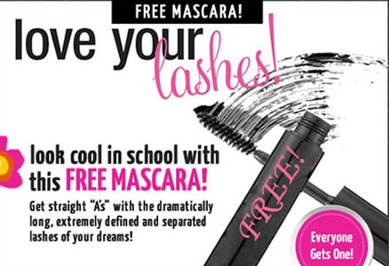 FREE SAMPLE: Mascara from Teen Freeway!