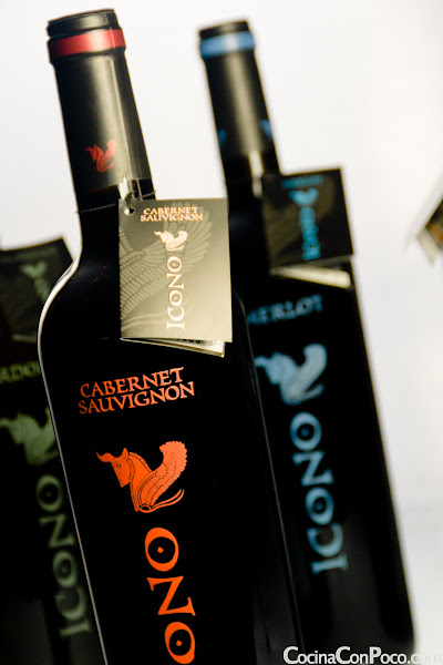 Icono Vinos Monovarietales Syrah Cabernet Chardonnay Merlot