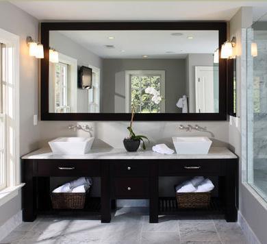 Ba os modernos dise os de interiores for Diseno y decoracion de banos modernos