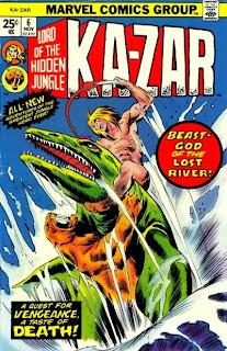 Ka-Zar #6, Moby Dick
