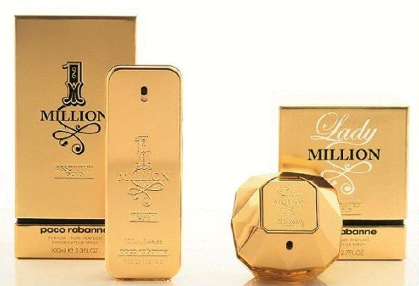 Clássicos modernos atuais perfumes one million Paco Rabanne