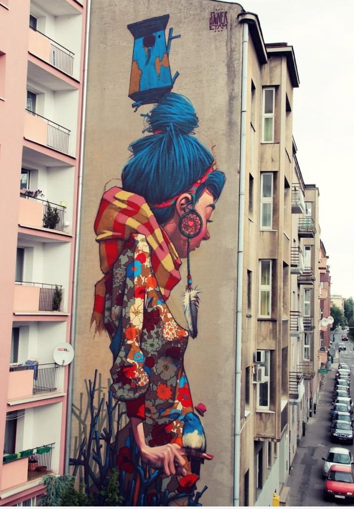 Amazing Graffiti In Lodz, Poland