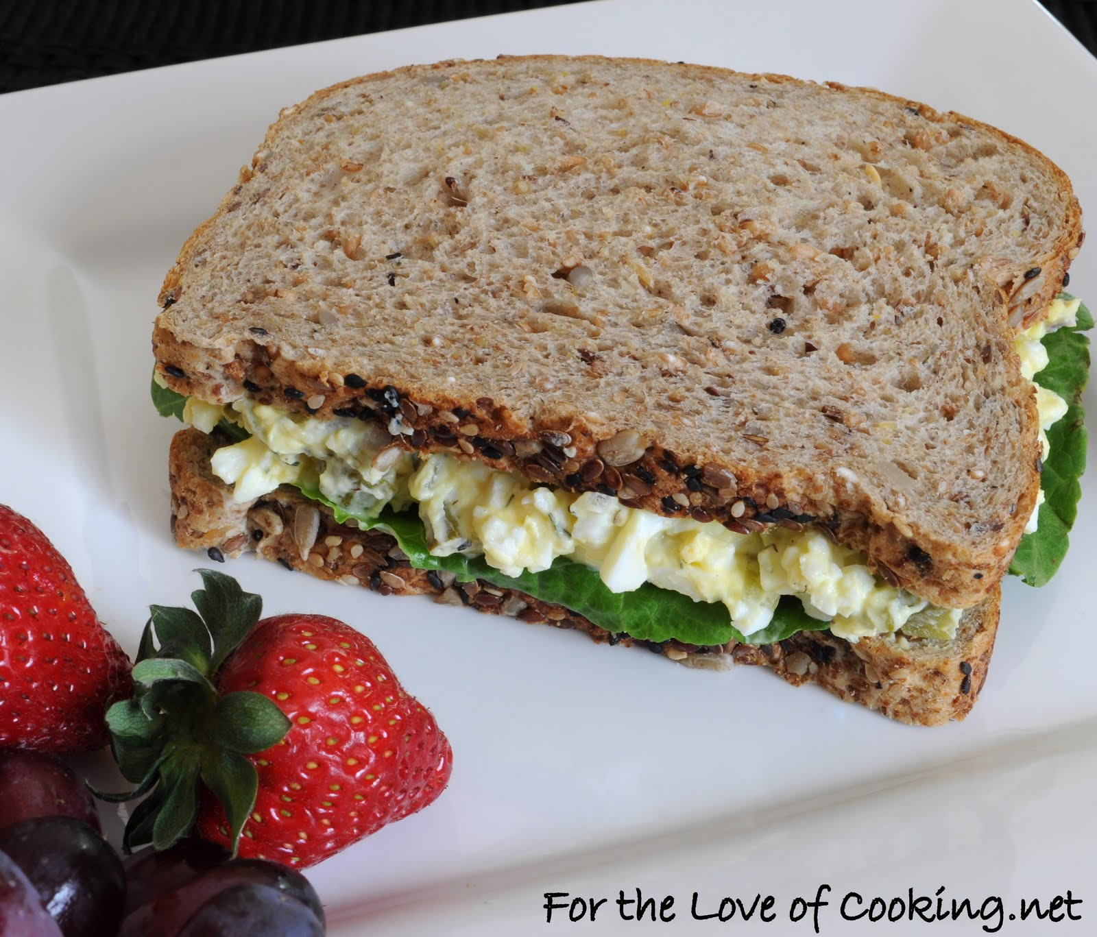 Egg Salad Sandwich | For the Love of Cooking