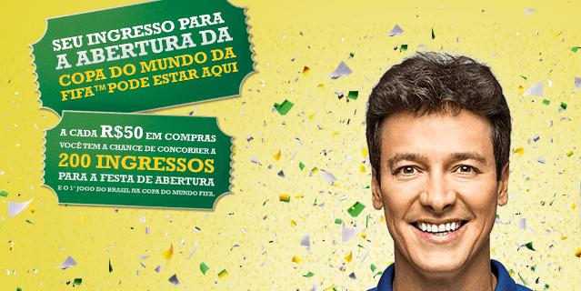 Ingressos Copa do Mundo 2014 promoção Centauro