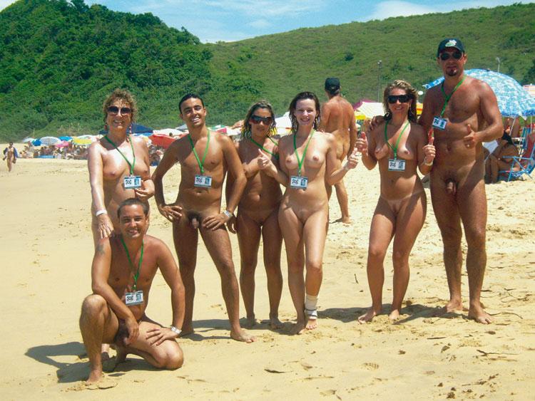 Playas nudistas Fotos y vdeos
