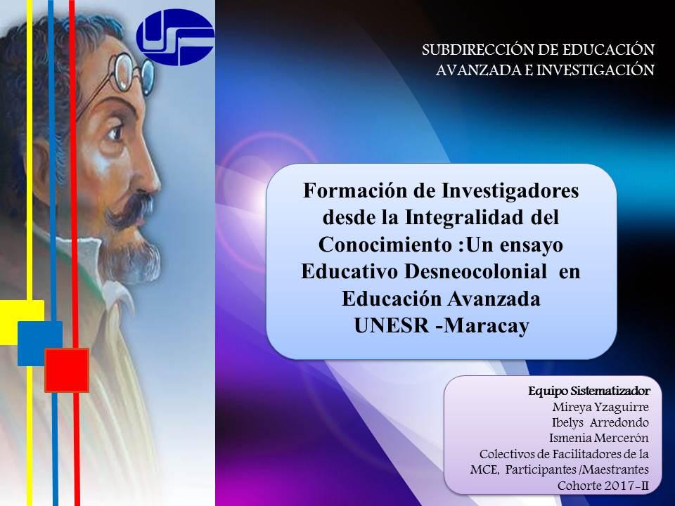 PRESENTACIÓN ENSAYO EDUCATIVO