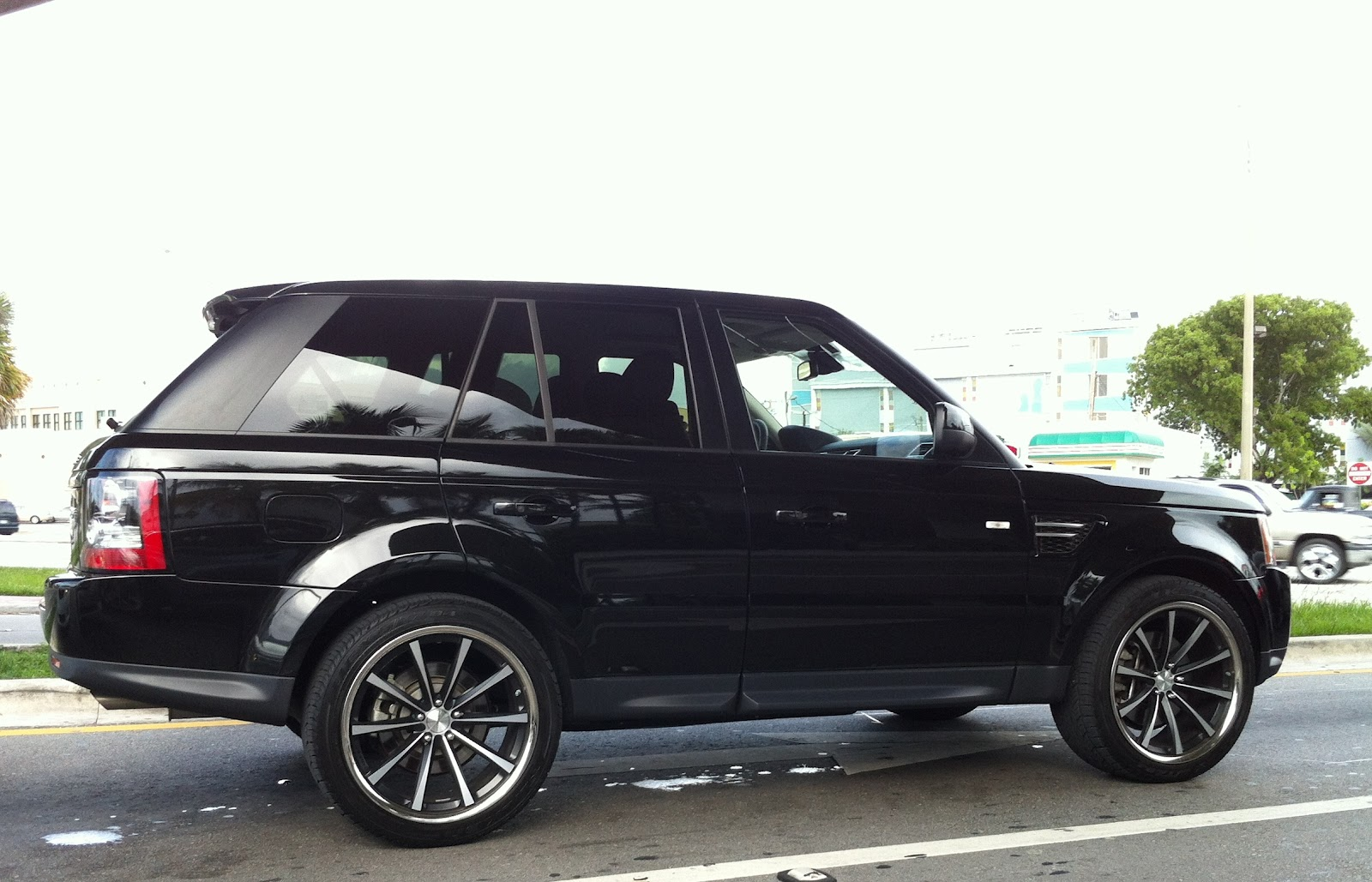 Black Range Rover Wheels Black Range Rover Supercharged