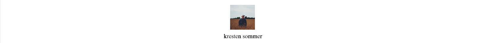 KRESTEN SOMMER PHOTOGRAPHY