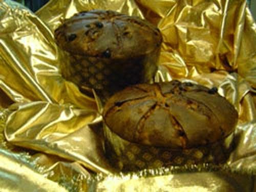 Gambar Kue Natal Panettonee