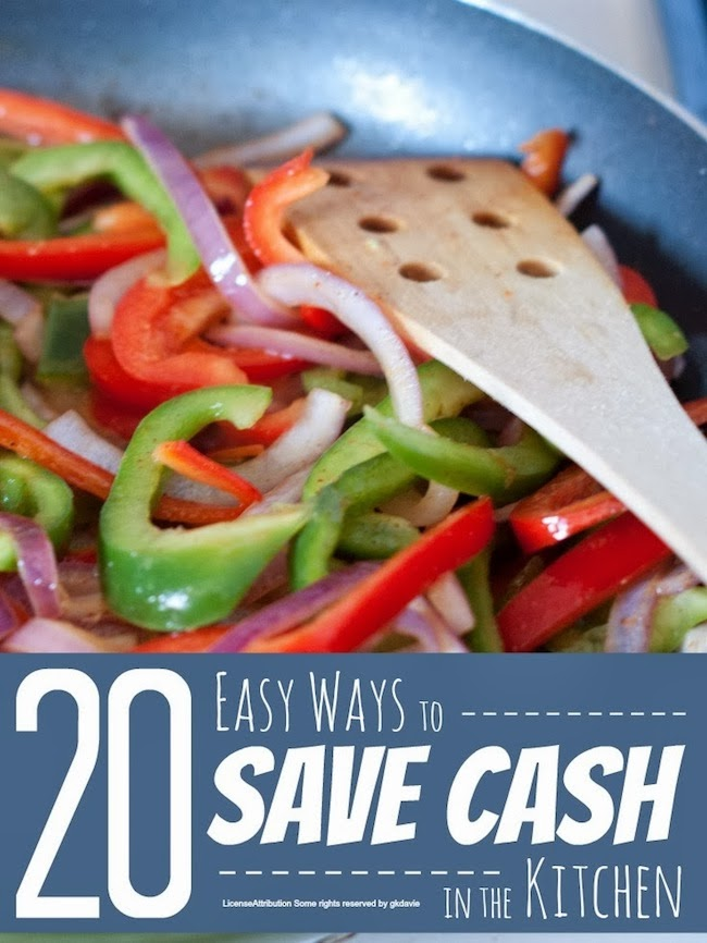 Ways to Save Cash in the Kitchen