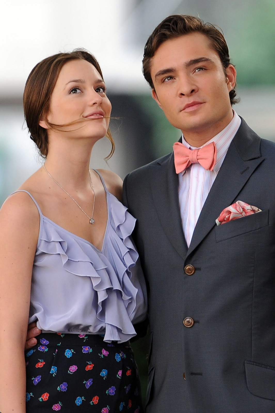 Ed Westwick And Leighton Meester In Formal Wear Blair And Chuck