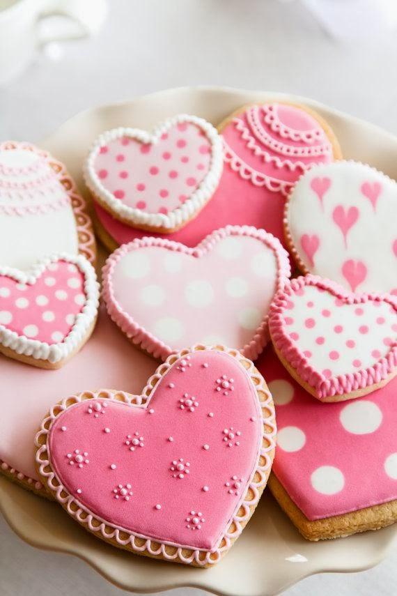 創意糕點】心型情人節婚禮餅乾 Heart Cookies - 小鐵 ...