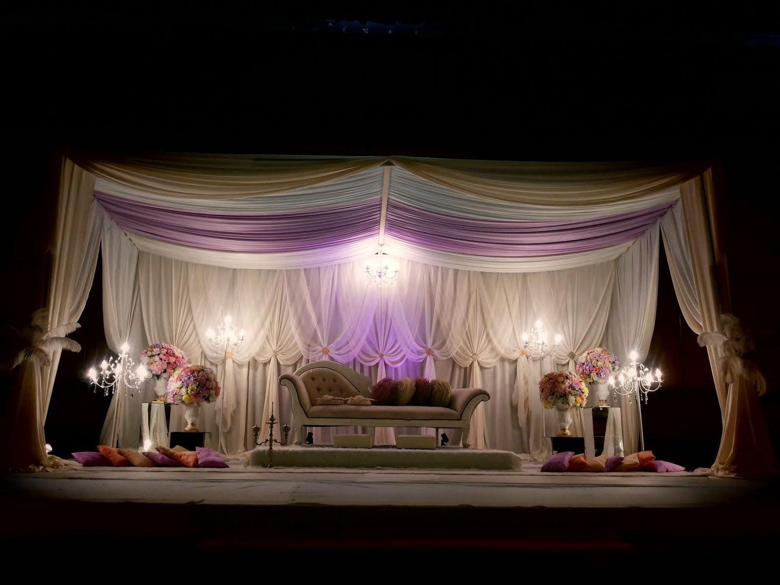 Pelamin Dewan Tirai,6 flower Stand,red carpet,pintu gerbang  RM2000.00