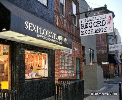 Sexploratorium and Philadelphia Record Exchange, South Street area in Philadelphia