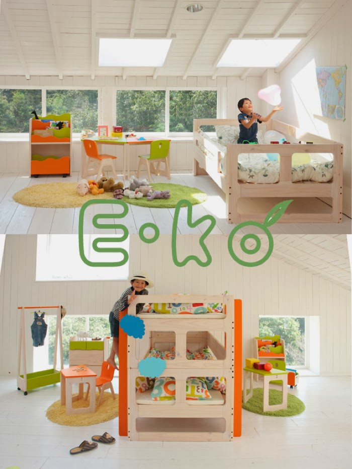 Japanese bunk bed E-KO