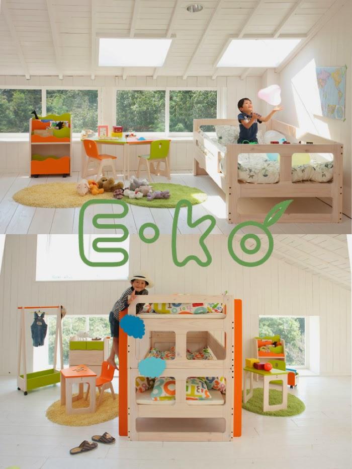 Japanese bunk bed E-KO