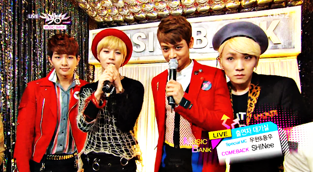 Shinee Why So Serious? Music Bank 130427_1