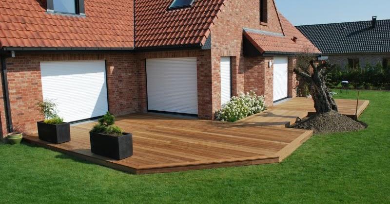 terrasses et piscines en bois faire faire une belle terrasse en bois de bonne qualit. Black Bedroom Furniture Sets. Home Design Ideas