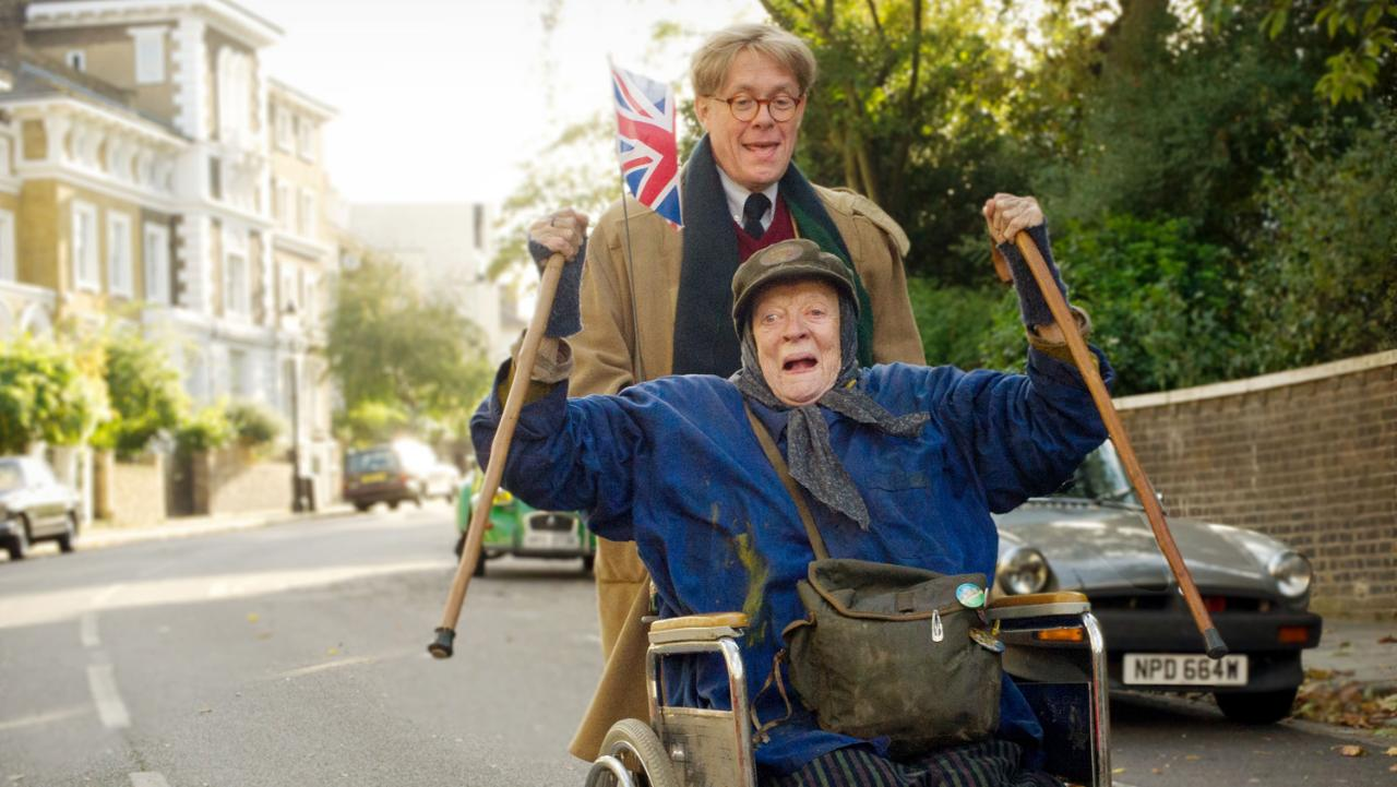 """A """"NEW' MAGGIE SMITH"""