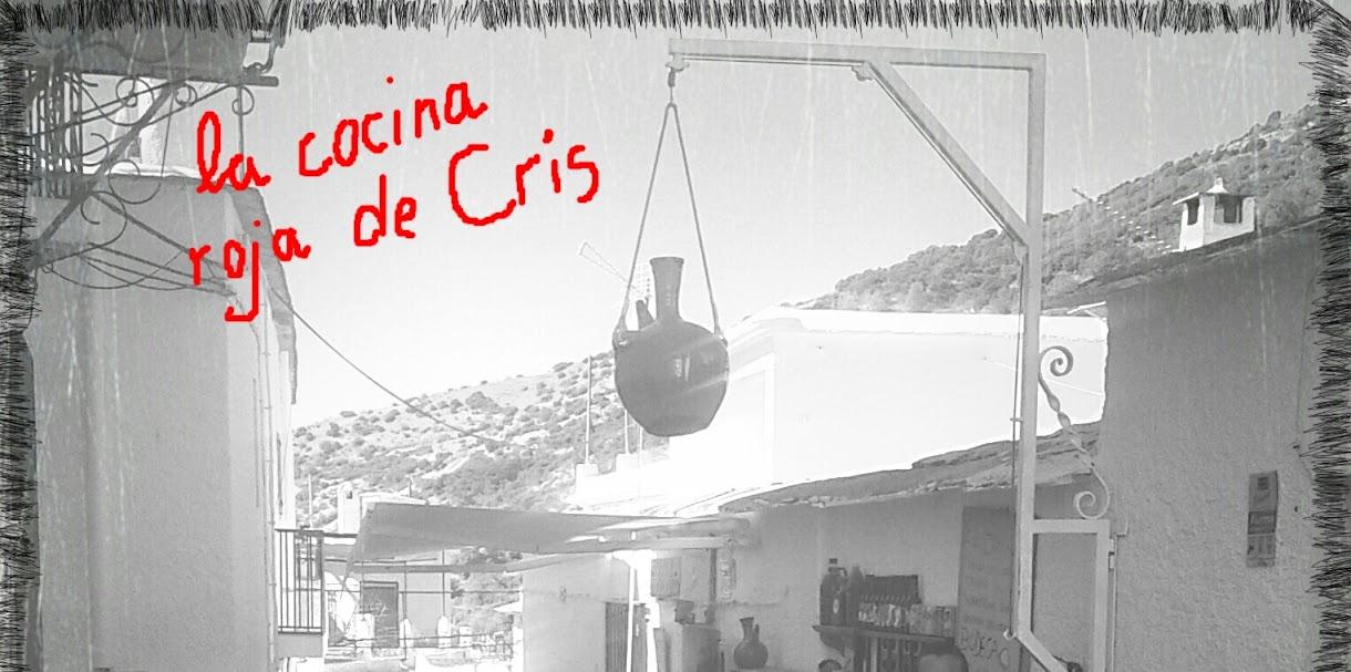 La cocina roja de Cris