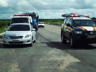 ACIDENTE NA BR 116 EM Chorozinho.