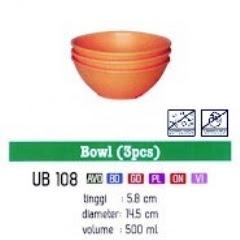 Info & Harga Twin Tulip Tulipware 2014 : Bowl - Mangkok