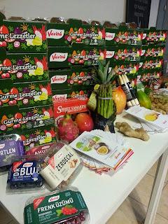 Verita Tropikal Meyve Etkinliği