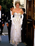 Diana's Gown Brings £102,000 at Auction