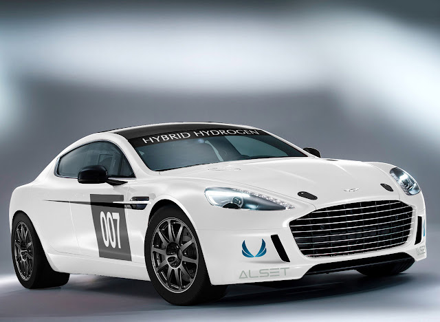 Aston Martin Hydrogen-Powered Rapide S to Race in the 24 Hours of Nürburgring