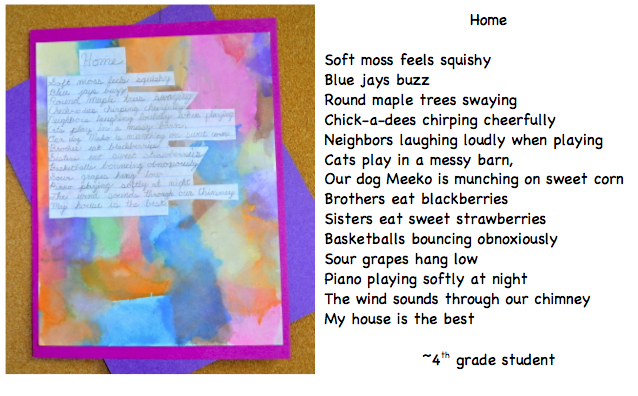 how to write a descriptive poem