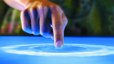 Touch on screen: Intelligent computing