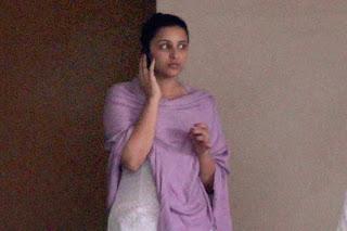 Katrina, Parineeti & Vidya Balan at Yash Chopra's Funeral