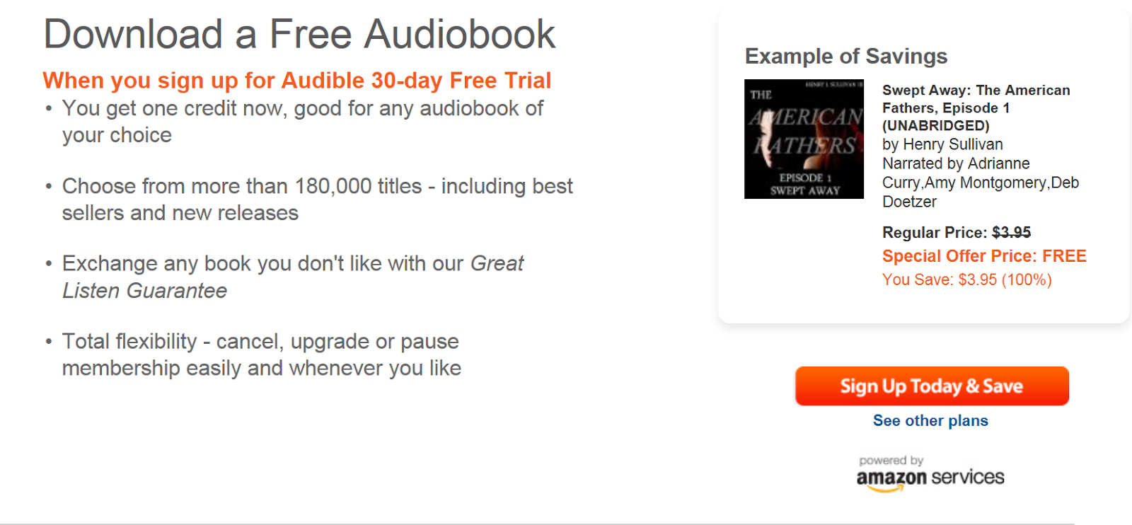 Listen to Audio Books for Free