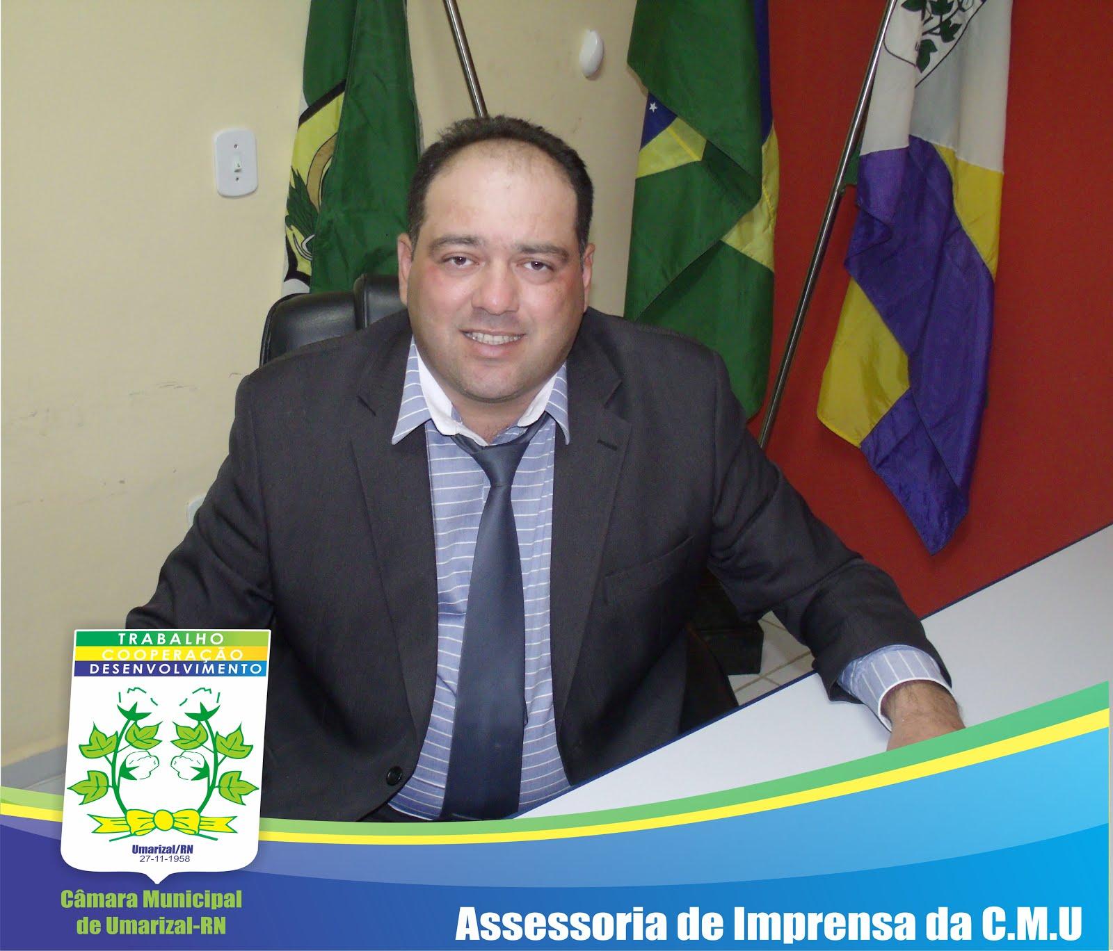 Presidente-Vereador PAULO MÁRCIO