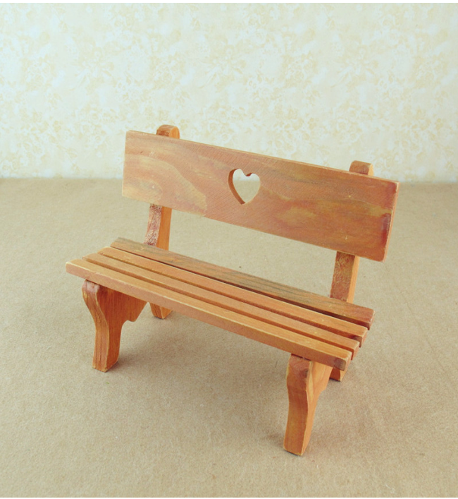Small Wooden Bench : Theheart-shape always stands for love and care. So it maybe also serve ...