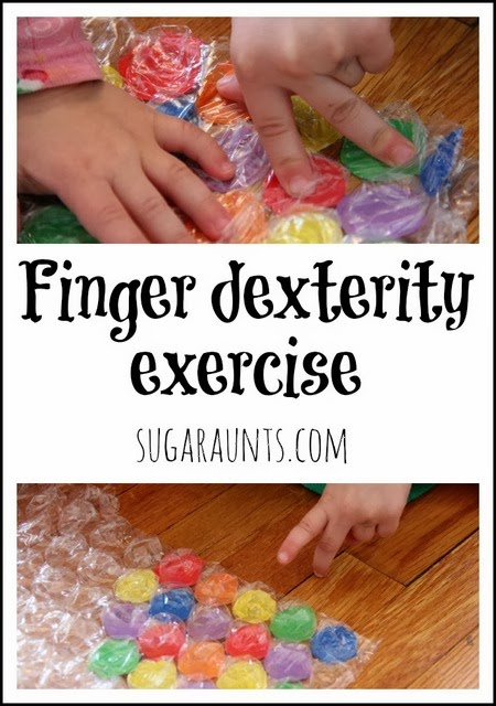 Kids will love to play this finger dexterity activity to work on fine motor skills.