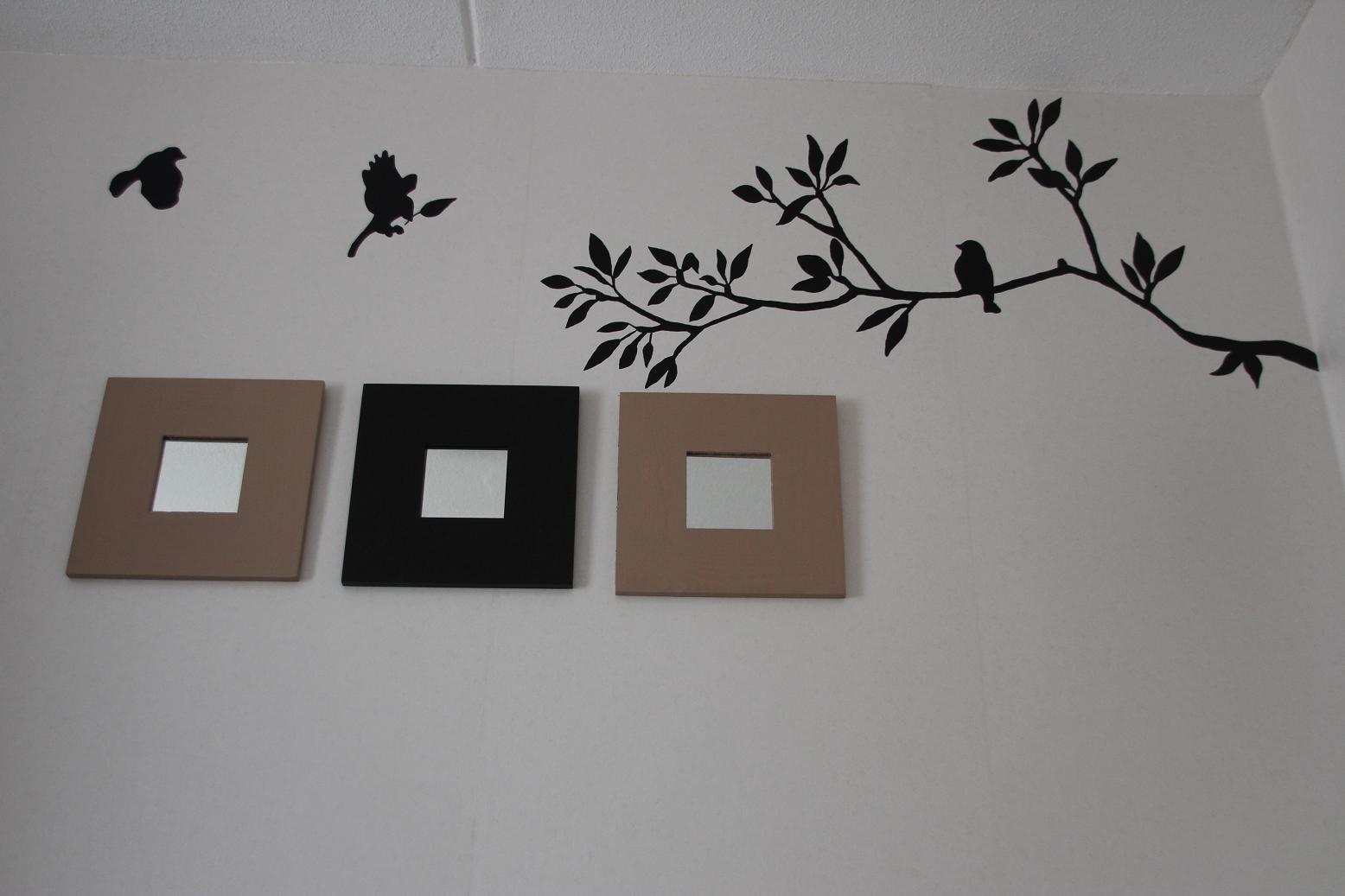 Nijntje Slaapkamer : Ma-de-by-me: Muurschildering vogels