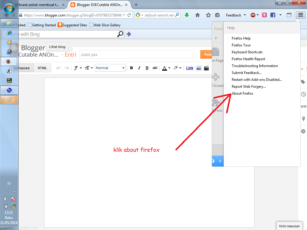 Download mozilla firefox versi baru 2014