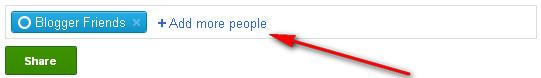 Google+ Add More People