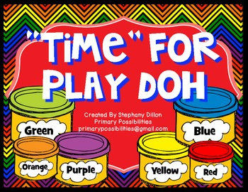 http://www.teacherspayteachers.com/Product/Time-for-Play-doh-Time-Activity-Common-Core-Aligned-709179