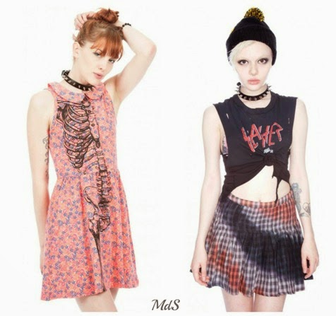 alternative fashion grunge