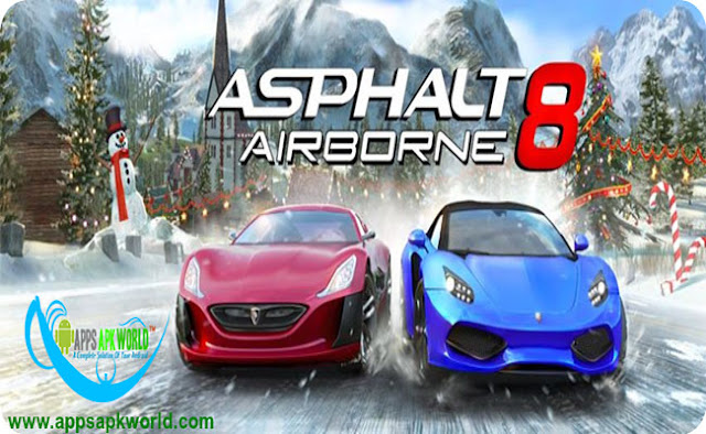 Asphalt 8: Airborne v1.9.1b APK + DATA MOD image