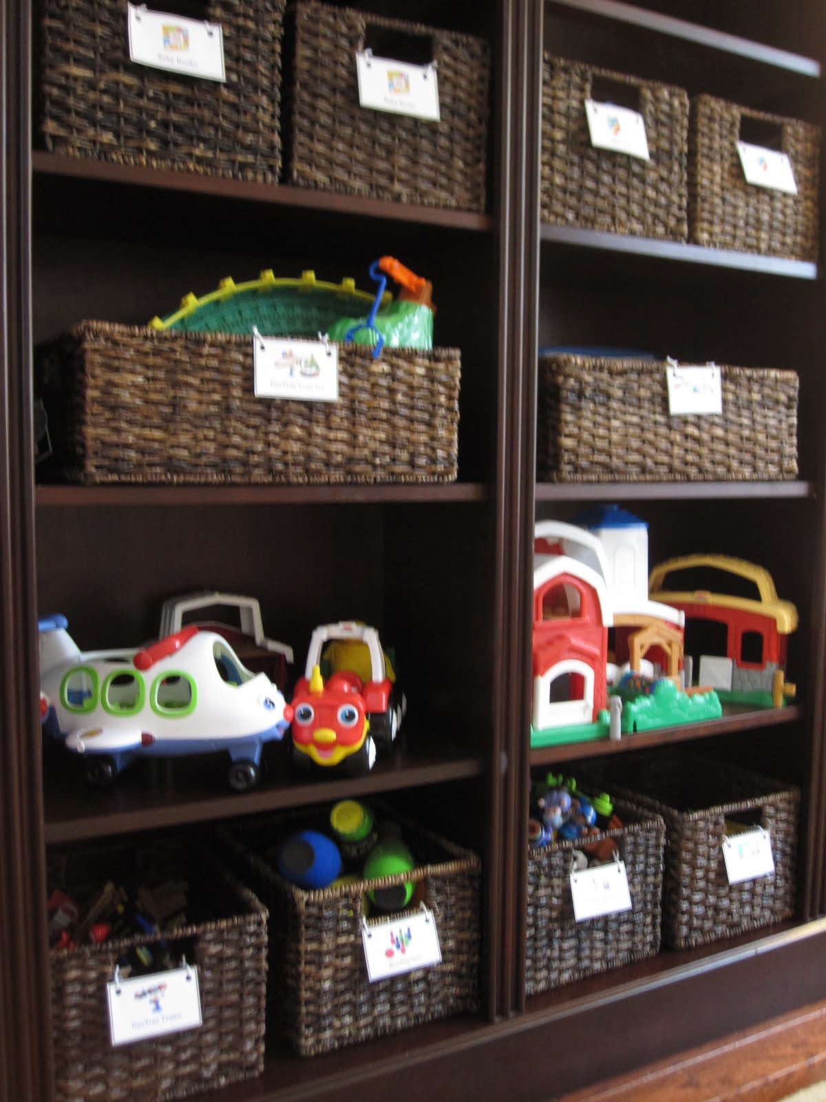 Toys Storage Ideas For Boys : Toddler approved kid toy storage