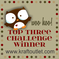 I won Top 3 Challenge Lacie Card