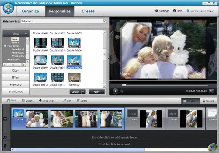 Wondershare Dvd Slideshow Builder deluxe 6 1 14 crack