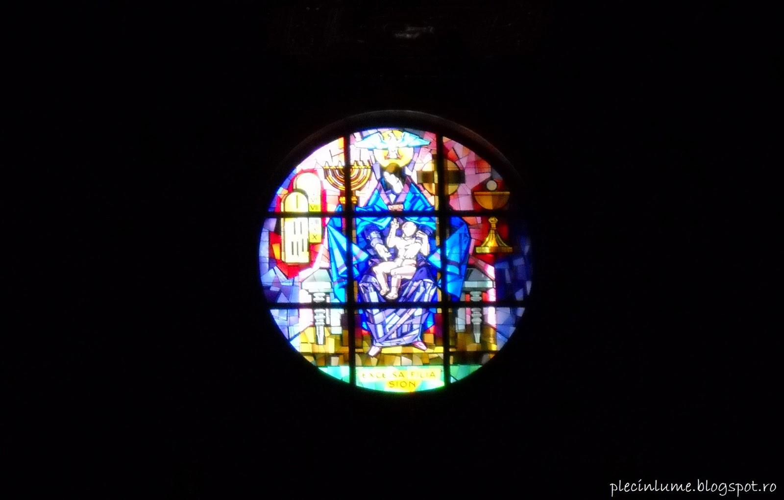 Vitraliu din Santa Maria Maggiore