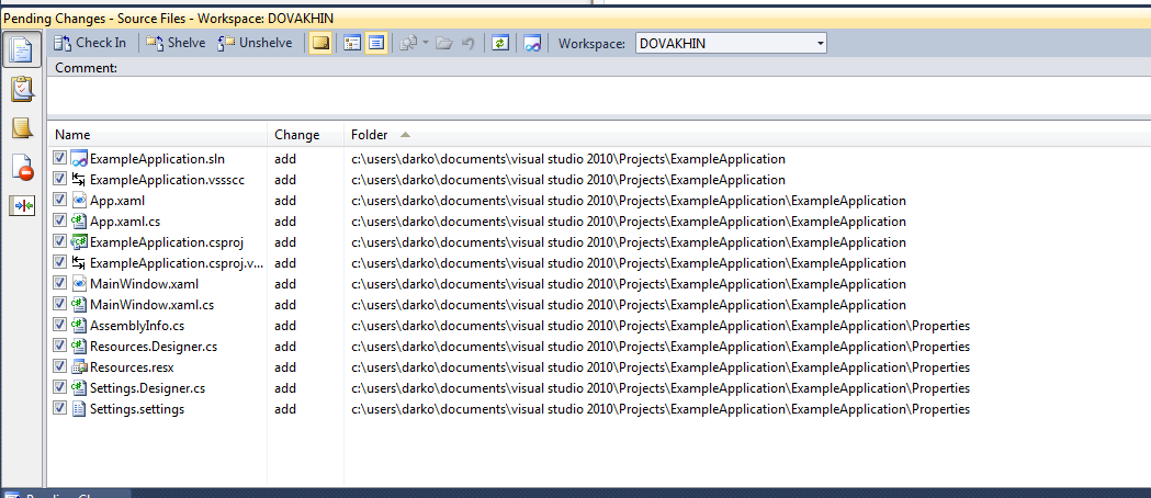 how to connect to tfs from visual studio 2013 express