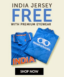 Buy India Free Jursey free with eyewear at Lenskart : Buy To Earn