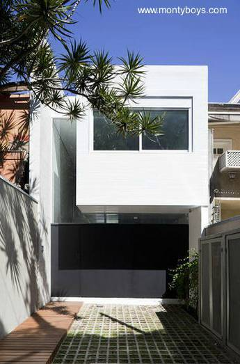 Planos de casas estrechas planos de casas estrechas for Casas estrechas y alargadas