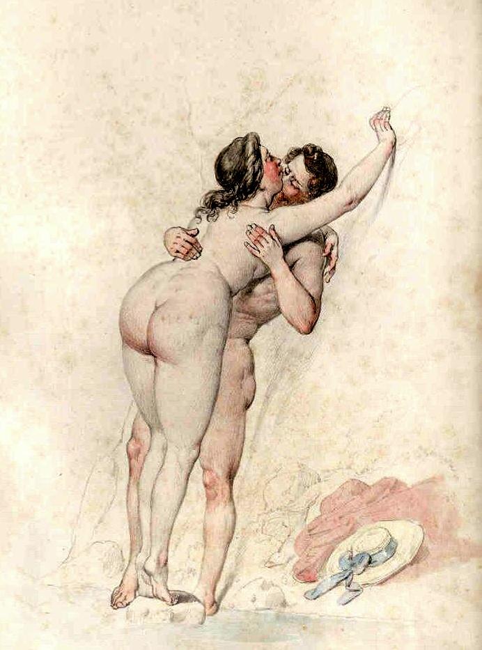 рисунки художников эротические
